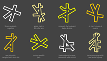 Artist Illustrates Trademark San Antonio Intersections as Part of Larger Minimalist Maps Project
