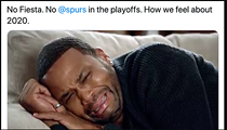 San Antonio Spurs Fans Mourn the End of the Team's 22-Season Playoff Streak