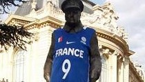 Nike Will Pay A French Sculptor $75K For Defiling His Work — With Tony Parker's Jersey