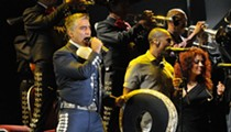 Mexican Crooner Alejandro Fernandez OK After His Truck Rolls Over