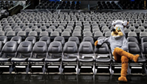 Your kids could receive a visit — and sweet treats — from the Spurs Coyote this Halloween