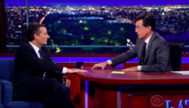 On The Late Show, Ted Cruz Spars With Stephen Colbert Over Gay Marriage, Reagan