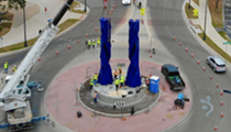 New sculpture by Mexican artist Sebastian makes its debut in downtown San Antonio