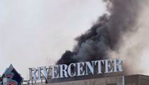 8 Videos and Photos of the Rivercenter Mall Parking Garage Fire