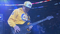 Was Flea's Version of the National Anthem at Kobe's Last Game Super Badass or Just Super Bad?