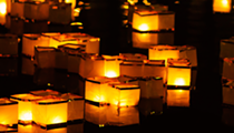 San Antonio Botanical Garden honors Japanese tradition with water lantern release
