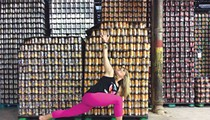 Finding Zen through Yoga and Beer