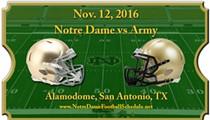 Notre Dame vs Army Football Game - November 12