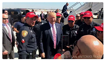 "Trump Says Mayor Taylor Should Be ""Ashamed Of Herself"" For Reprimanding Officers in Trump Hats"