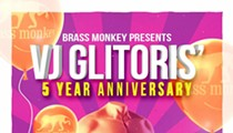 ThurzGayz: VJ Glitoris Celebrates 5 Years of Ass Shaking at Brass Monkey