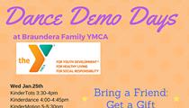 Free Dance Demo Day at Braundera YMCA