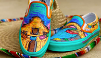 Edison High School student enters Vans Custom Culture contest with puro San Antonio-themed design