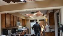 Tornado Leaves 4-Mile Path of Wreckage Near Alamo Quarry