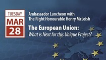 Ambassador Luncheon with the Right Honourable Henry McLeish