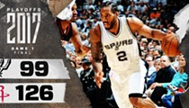 Houston Threw a Three-Point Fiesta and the Spurs Were Invited