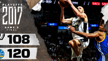 The Spurs went down swinging in Game 3, and that's enough