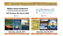 Headwaters Summer Environmental Film Extravaganza