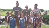 San Antonio Stars Host Hoops For Troops on July 7
