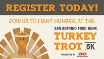 San Antonio Food Bank Turkey Trot 5K Run & Walk