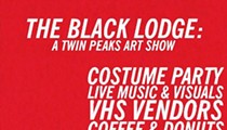 """The Black Lodge: A Twin Peaks Art Show"""