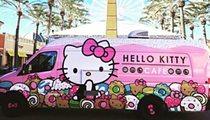 The Hello Kitty Truck Cafe Is Wheeling Back to San Antonio