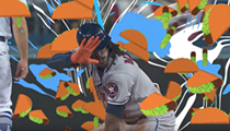 Taco Bell is Giving Away Free Tacos Today Because of Houston Astros' Cameron Maybin