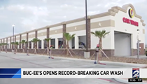 Buc-ee's Holds Record for World's Longest Car Wash
