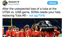 There Was An Open Casket Memorial for a Tuba That Got Demolished at a UTSA Game