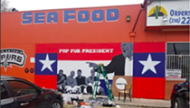 """Carmelita's Partially Takes Down """"Pop for President"""" Mural Because of Fully-Triggered Customer"""