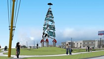 Cruz Ortiz is Making a 60-foot Tower Inspired by Selena, Folk Stories on the South Side
