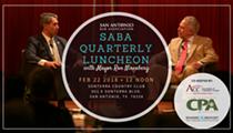 SABA Quarterly Luncheon with Mayor Ron Nirenberg