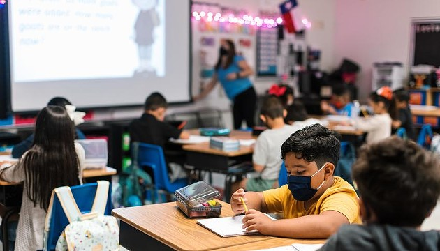 Texas schools have reported more coronavirus cases in two months than they did in the entire 2020-21 school year