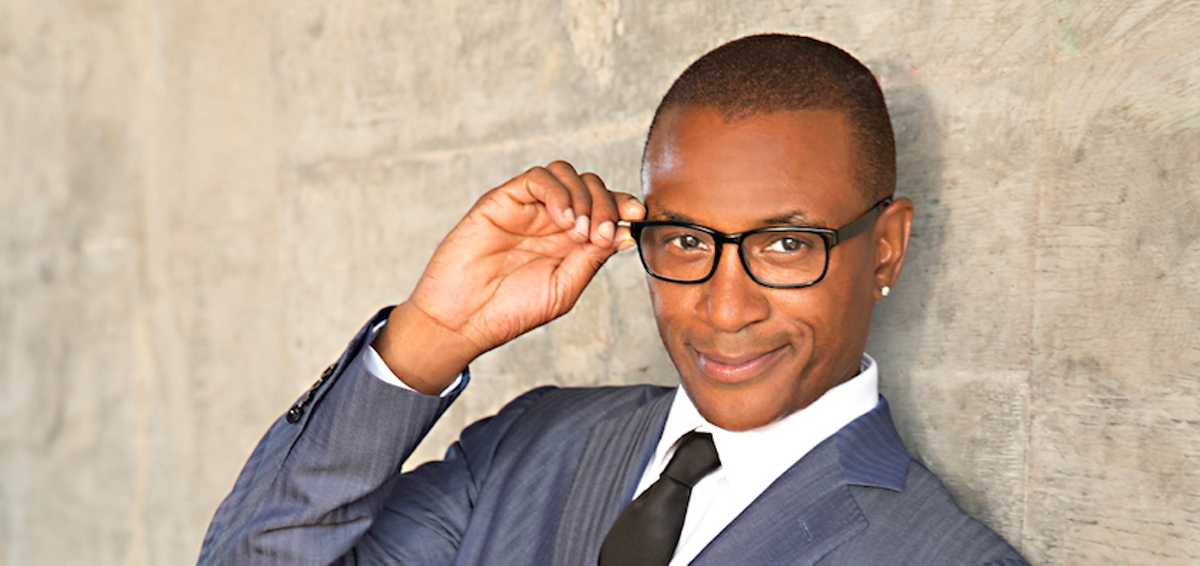 In Living Color Black Dynamite Comedian Tommy Davidson
