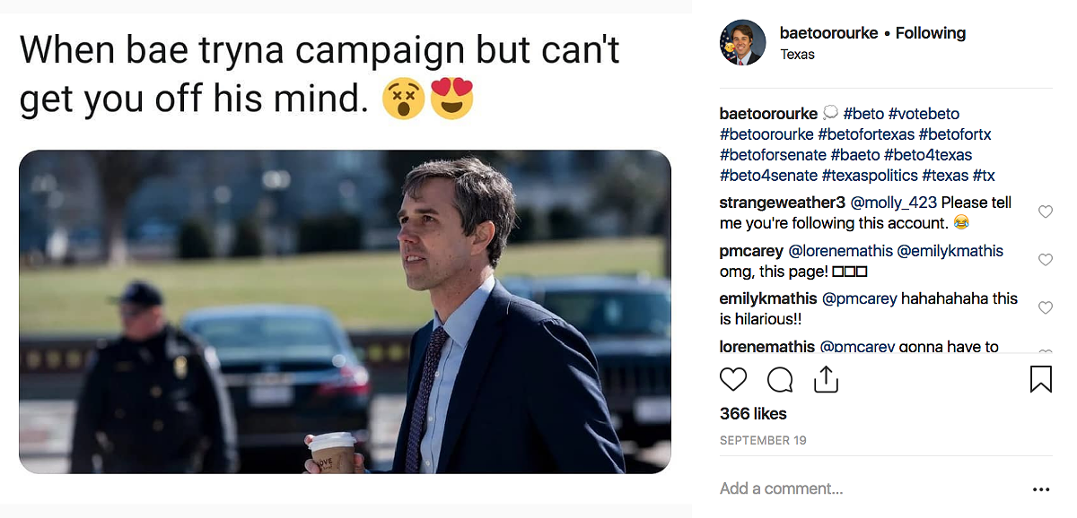 The Most Hilarious Memes About Beto O'Rourke That Are