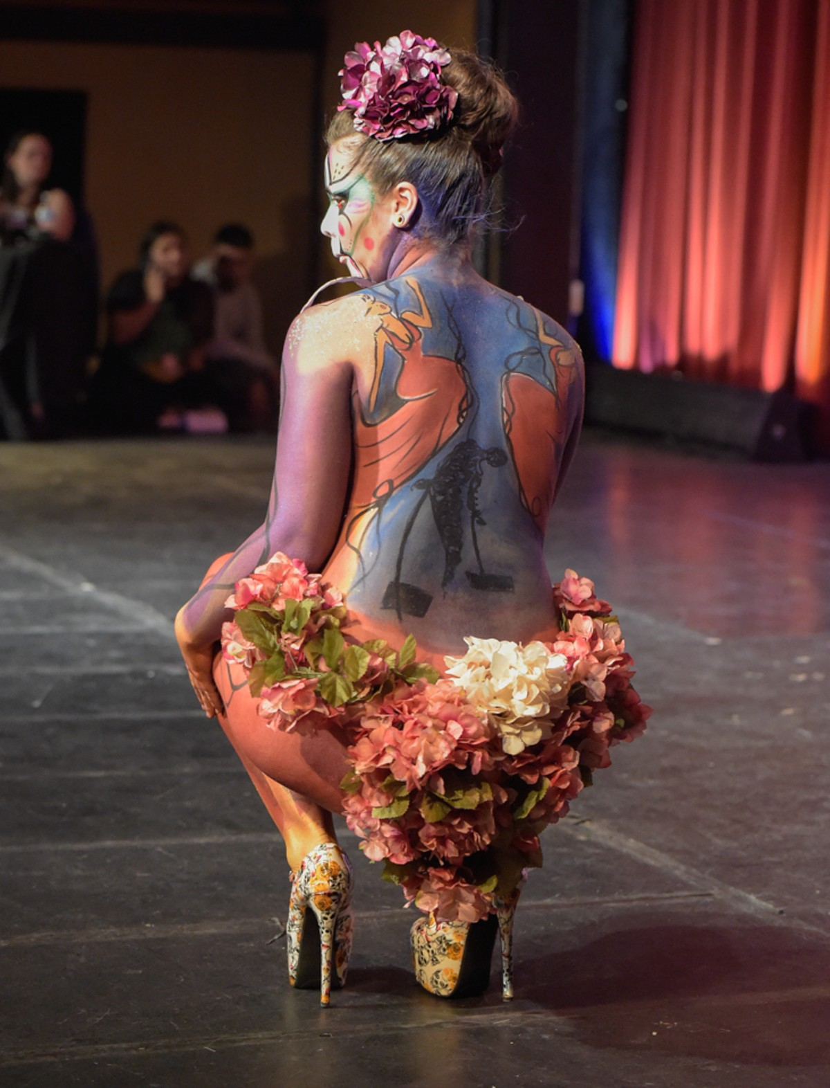 Body Paint Art Competition