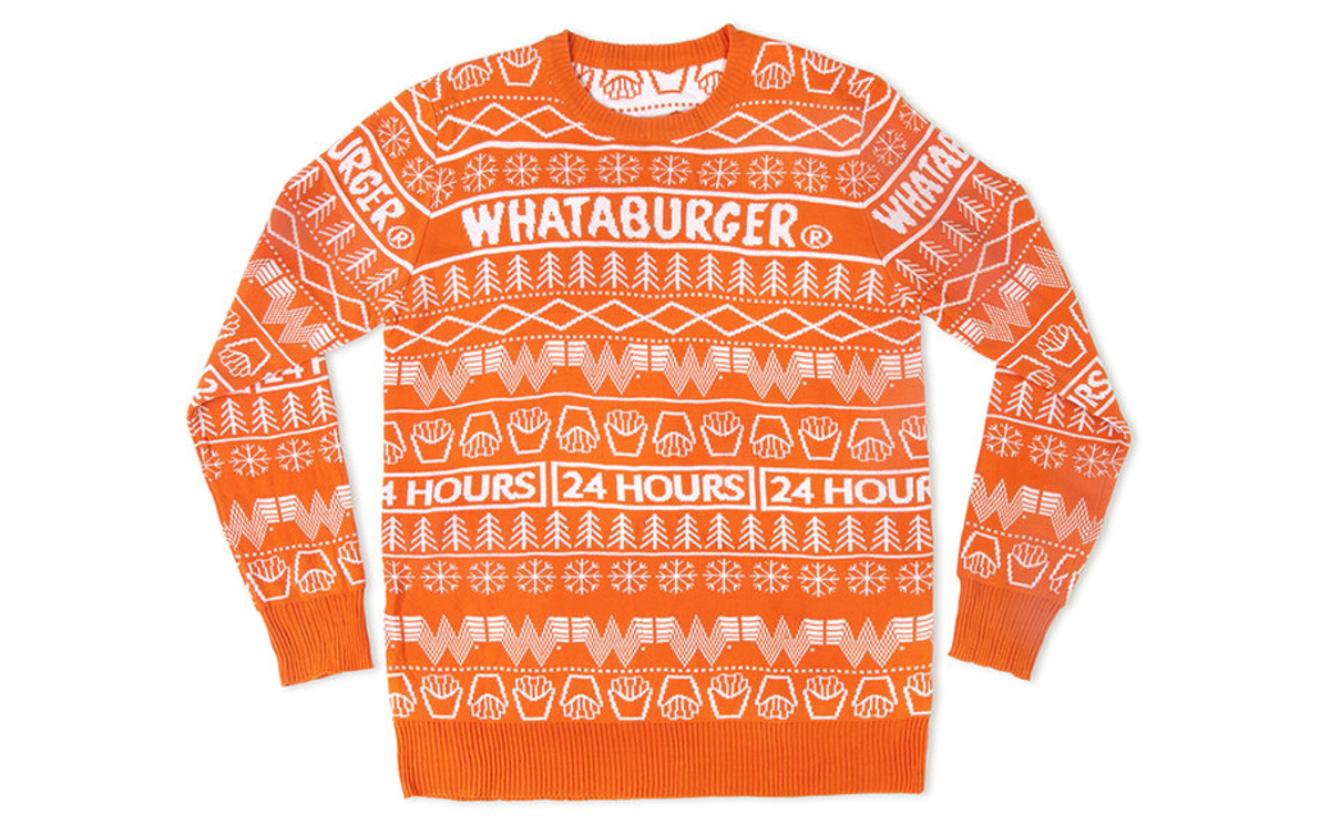 Christmas Cardigan Sweaters.Whataburger Sells Out Of Christmas Sweaters But More Are On
