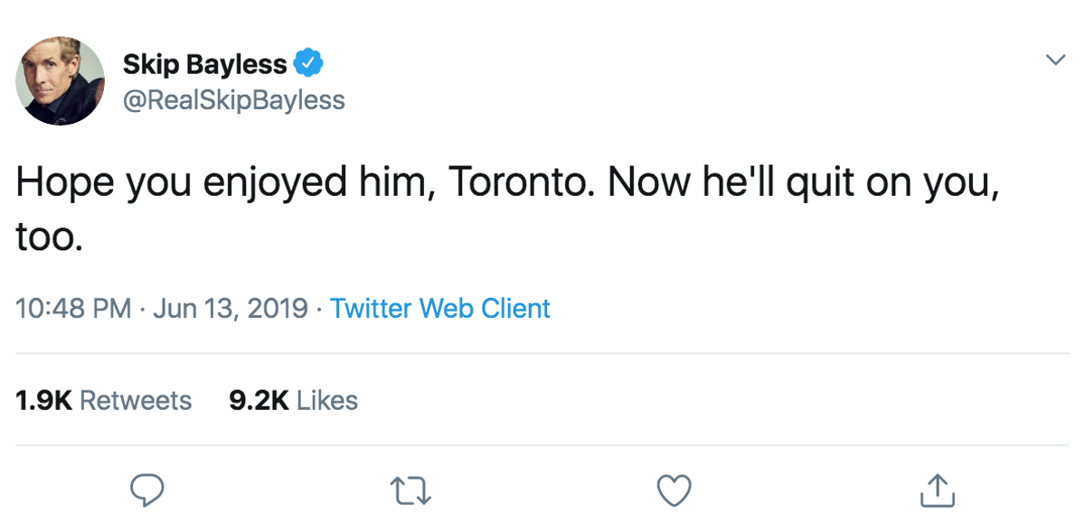 7b21a7d7452 Twitter Savagely Reacts to the Kawhi Leonard Leading the Toronto Raptors to  NBA Championship a Year After He Left the Spurs | San Antonio | Slideshows  | San ...