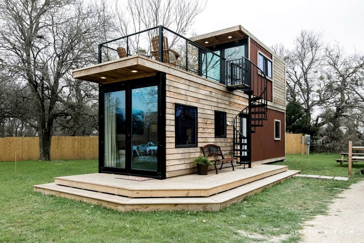 7 Gorgeous Tiny House Glamping Spots Within Driving