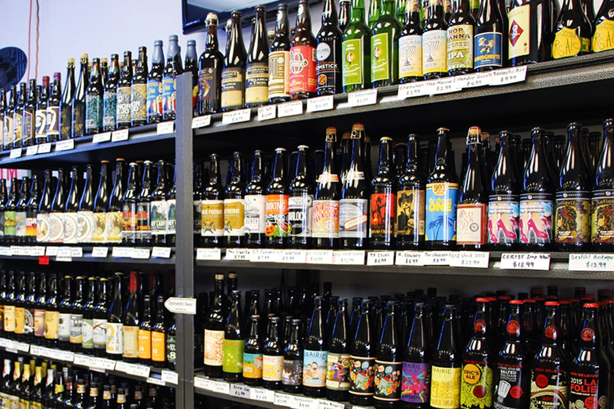 6 shops with eclectic varied craft beer lineups flavor for Craft beer store san antonio