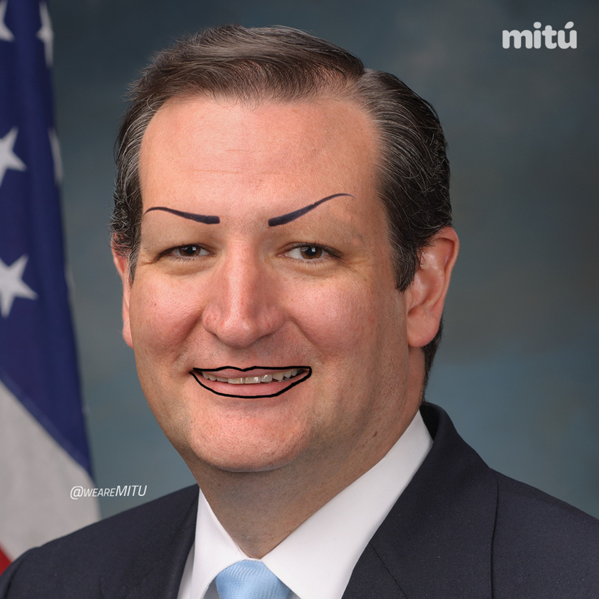 Image result for worst picture of ted cruz