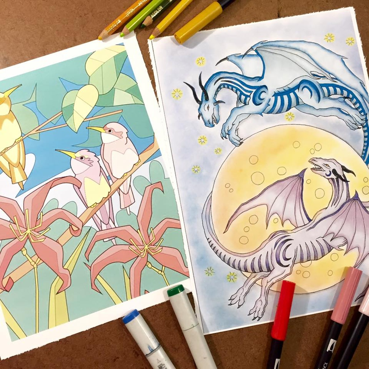 sa based start up blue star coloring books for adults featured in
