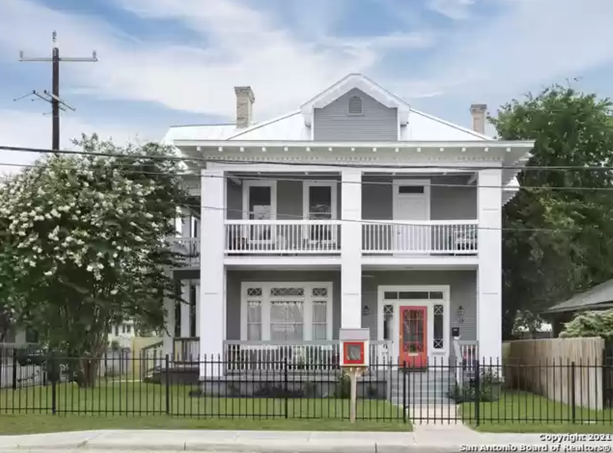 Painter and muralist Cristina Sosa Noriega is selling her home in San Antonio's historic Knob Hill