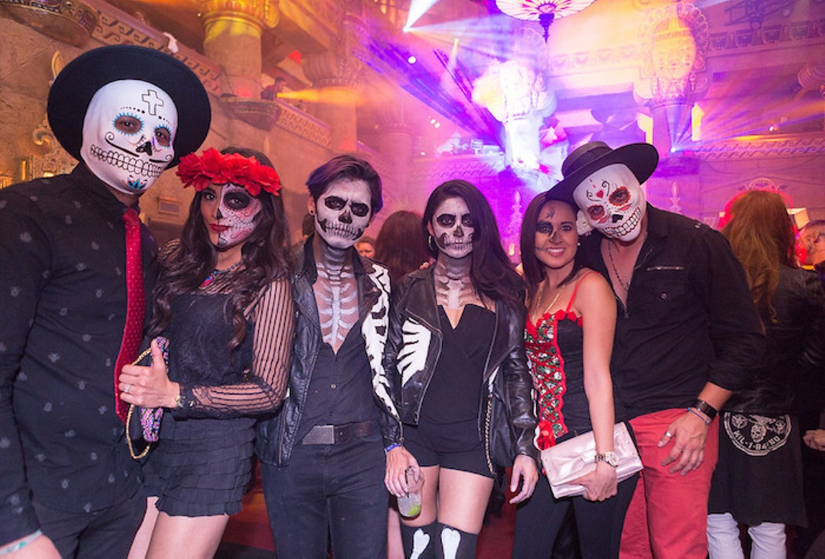 46 Best Photos from Halloween at Aztec Lounge | Slideshows | San ...