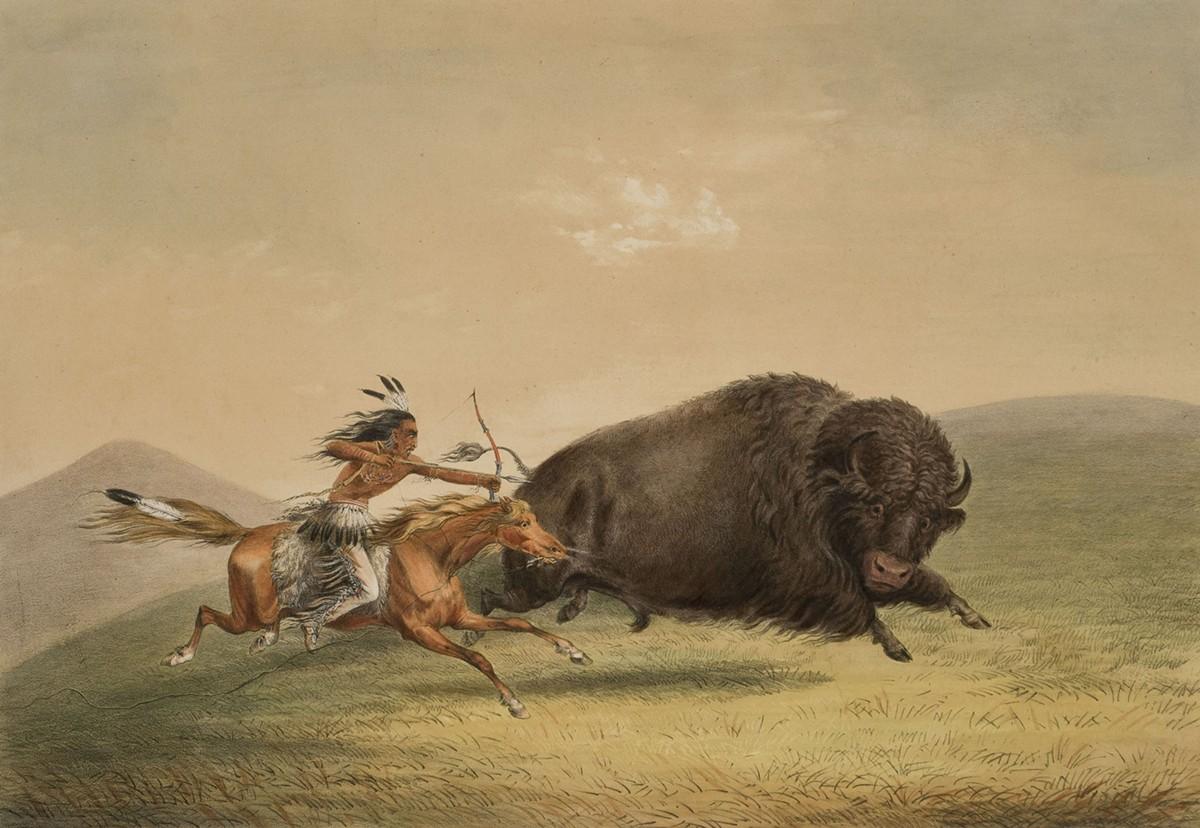 American Indian Paintings Art