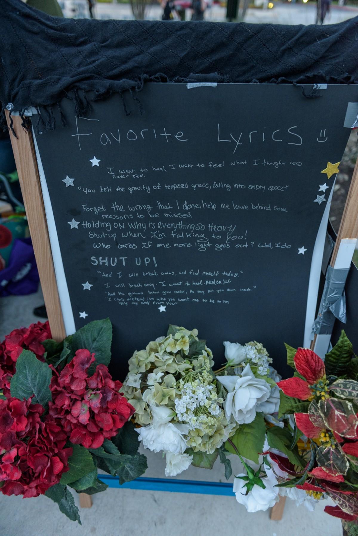 Photos: Chester Bennington Candlelight Vigil | San Antonio