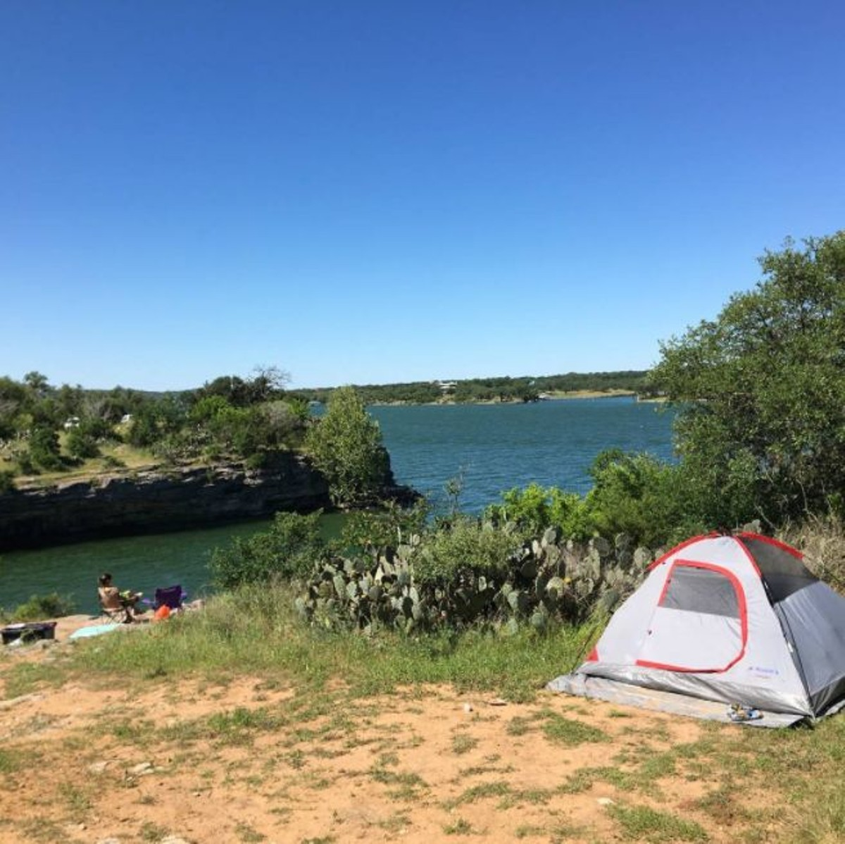Only Two Hours Away From San Antonio Pace Bend Park Is A Solid Place For Camping Out Near The Water Without Being Too Far Home