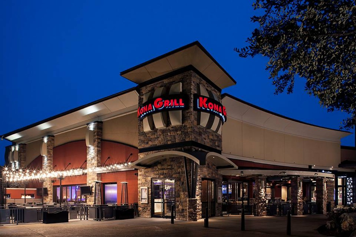 Kona Grill At La Cantera Is Closed For Maintenance Flavor