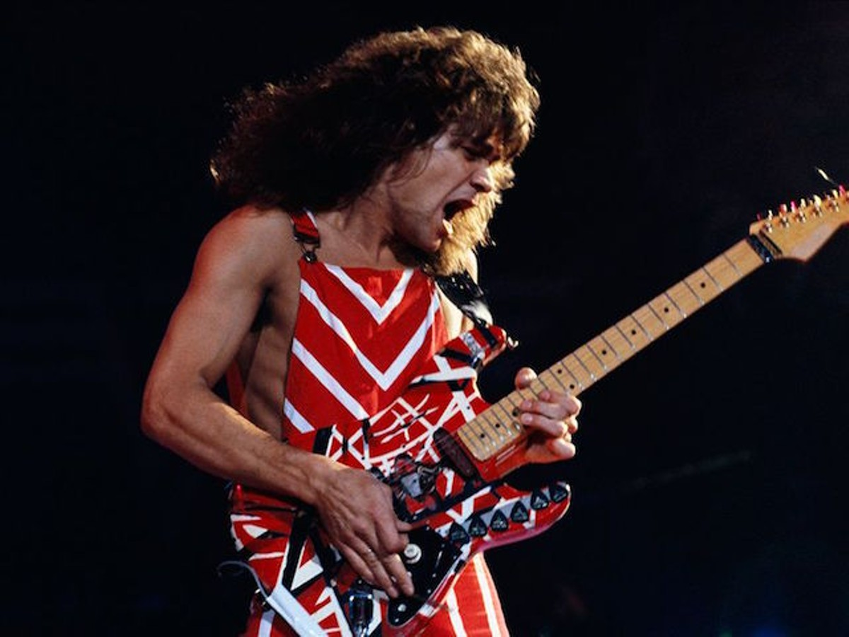 63430e33e2d Someone Stole This Iconic Van Halen Guitar From Hard Rock