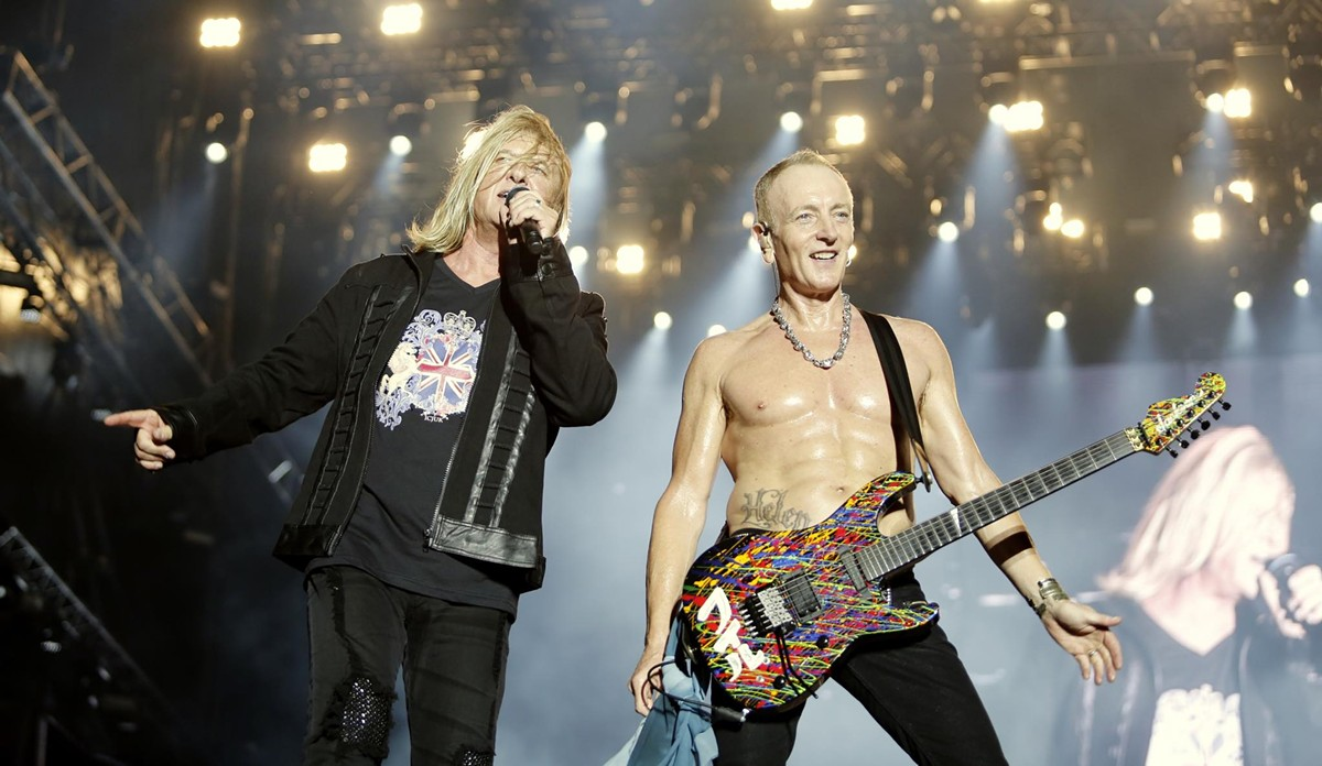 Bust Out Those Leather Pants Journey And Def Leppard Are