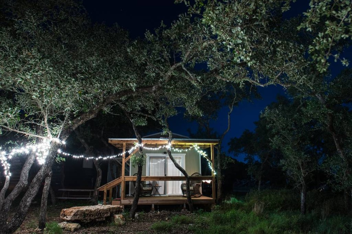 12 texas hill country airbnb rentals perfect for a for Cabin rentals near san antonio tx